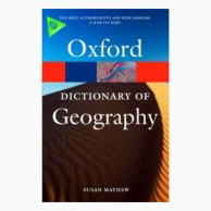 Oxford Dictionary Of Geography-4E B031030