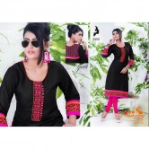 KAYA BRAND  Zara vol 09 REYON COTTON MATERIALS  Kurtha Tops design 09