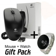 Bundle Deal Gift Japanese Watch Plus Logitech Mouse