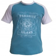 Paradise Raglan - Turq / Sea green