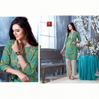Chandani Kurtha Tops  Cotton Material ID 204