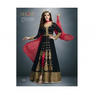 Black Gulzar Dress G1404