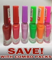 Pack of 6 Nail Polish