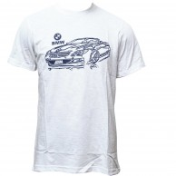 BMW T-Shir For Men White