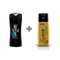Axe Shower Gel and Axe Gold Temptation