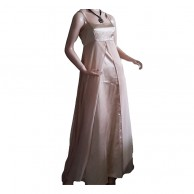 Eye Cool Creamy Long Frock