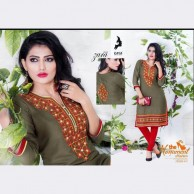KAYA BRAND  Zara vol 09 REYON COTTON MATERIALS  Kurtha Tops design 01