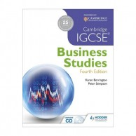 Cambridge IGCSE Business Studies 4E with CD B160255