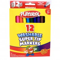 Super Tip Markers 12 Count