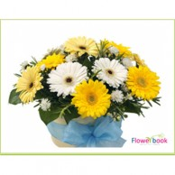 Mix Gerberas Flower arrangment BD001