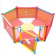 6 Panel Playpen with Granny Gate