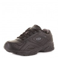 Hi Tec XT115 JR Trainer Shoe Black And Charcoal
