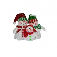 Christmas Toy Stuffed snowman family 4194