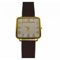 Brown Rocky Silicone Watch