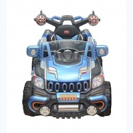 Kids Monster Blue Rechargeable Jeep 13000068