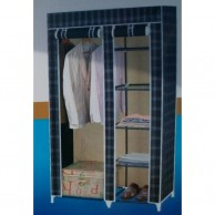 Foldable Cloth Cupboard With Zip Up