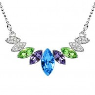 Multicolour Crystal Necklace