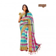Aura Sharanya Raaga Branded Cotton Saree