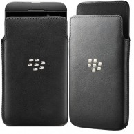 Blackberry Z10 Leather Pocket Cover NFC Friendly