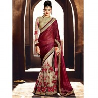 Heavy Designer Nirvana Saree SR1441