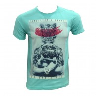 Tiger Face Cotton Tshirt