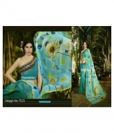 PARTY & WEDDING WEAR SAREE DESIGN 7223
