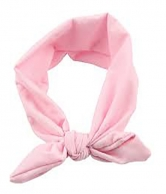 Pink Colour Knot Rabbit Headband