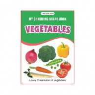 My Charming Board Book Of Vegetables B430315