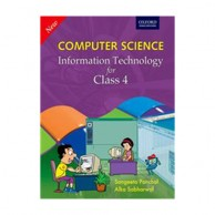 New Computer Science Information Technology For Class-4 B030617