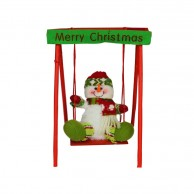 Christmas Toy Swinging Snowman 4197