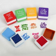 English Words teachers Reward Stamp Printing Set