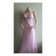 Pink Tail Long Frock