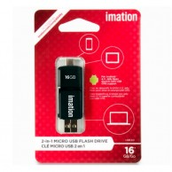 Imation 2 In 1 Micro USB Flash Drive 16Gb With USB OTG