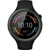 Moto 2nd Gen Sport Black Smartwatch