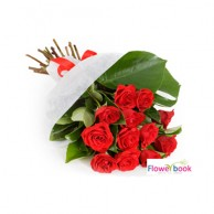 10 Red Rose Bunch RM027