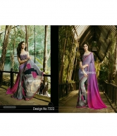 PARTY & WEDDING WEAR SAREE DESIGN 7222