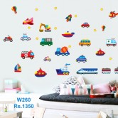 Wall sticker-Vehicle Set