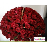 200 Red Roses Arrangement RM012