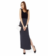 POLKA DOT MAXI SKIRT AVSK100175