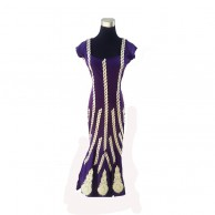 Purple Long Dress 088
