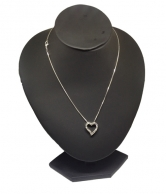 Women's Chain with Heart Pendant
