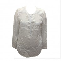 Plain cotton Dress Shirts for Women P3
