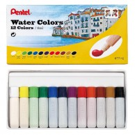 PENTEL WATER COLOURS 12/6ml PEWC001