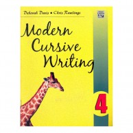Modern Cursive Writing Book-4 B130617