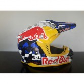 RED BULL RACING YELLOW RACE MOTOCROSS HELMET