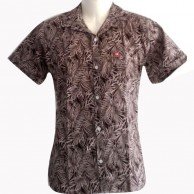 Quality Brown Colour Printed Shirt