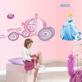 Wall sticker-Cinderella