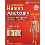Chaurasia's Human Anatomy Volume 3 CD 6E A220093