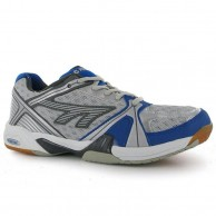 Hi Tec Indoor Lite Men's Squash Shoe Silver and Blue
