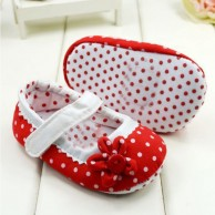 Polka Dot First Walkers Baby Toddler Shoes
